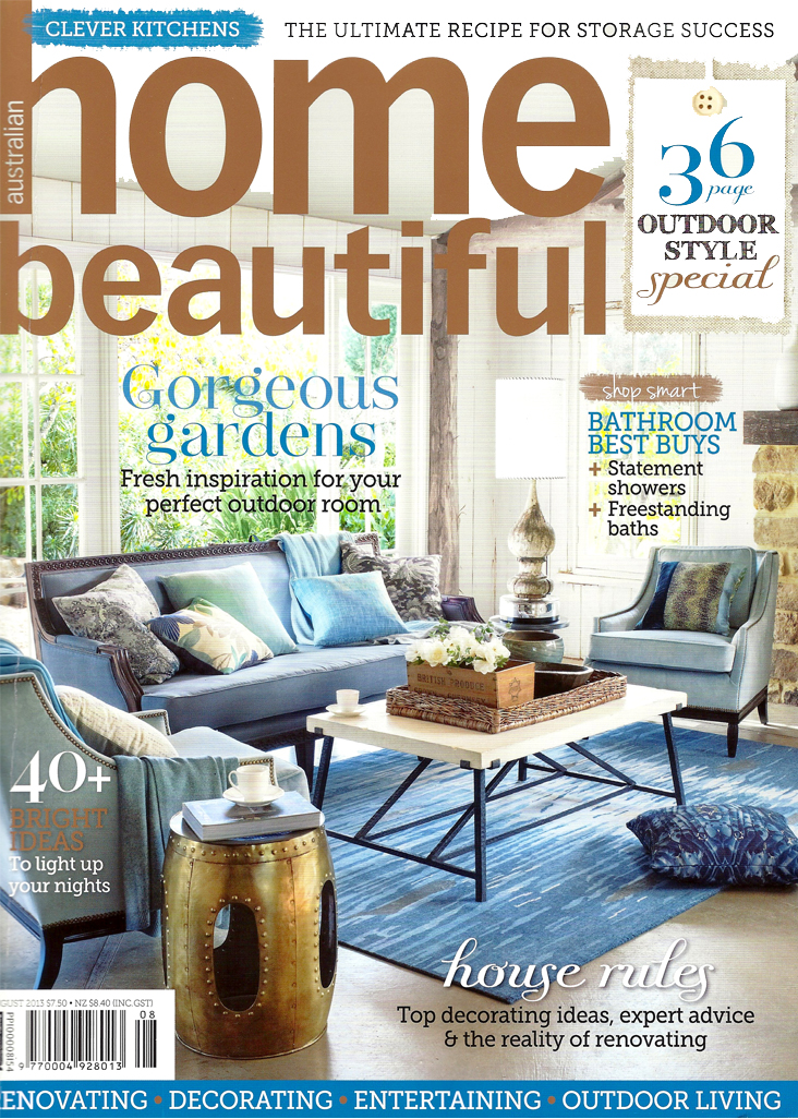 2013 August Issue Of Home Beautiful Magazine
